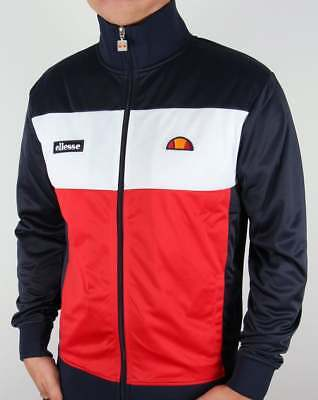 BNWT RRP £65 SERGIO TACCHINI TRACK TOP SCIROCCO 80/'S ZIP UP IN RED