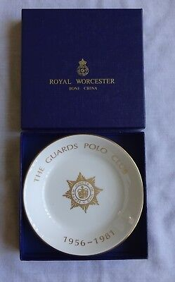"""Royal Worcester Bone China 6"""" Bowl """"The Guards Polo Club"""" Limited Edition No.271"""