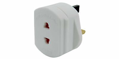 Electric Shaver Plug Adapter Oral-B Toothbrush 2pin to 3pin Converter Adaptor