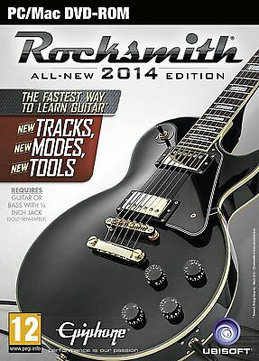 PC NEW BOXED GAME * ROCKSMITH 2014 with REAL TONE CABLE