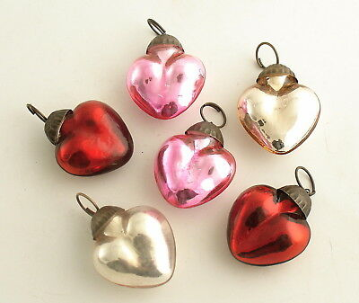 Glass Heart Ornaments Valentine's Day Decorations Valentine Decoration