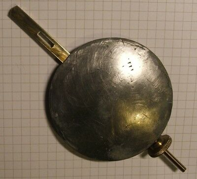 Clock Parts Spares - Large Heavy Pendulum - Free Postage -