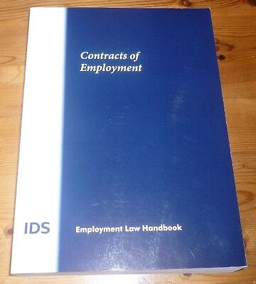 Contract Of Employment  (Ids - Employment Law Handbook)  2014 - Pb - Scarce