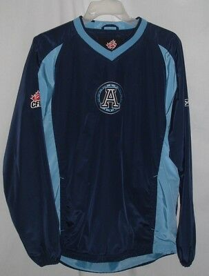 df44b4b4081 Reebok Toronto Argonauts CFL Football Pullover Jacket Men s Size Small