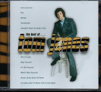 TOM JONES - The Best Of - CD Album *NEW (Unsealed)* *Greatest Hits**Collection*