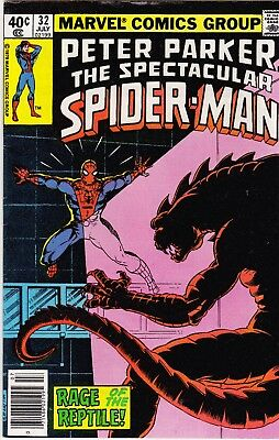 Marvel - PETER PARKER - SPECTACULAR SPIDER-MAN # 32 July 1979