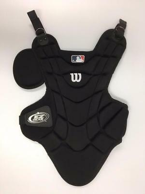 "New Wilson Youth EZ Gear Catcher's Baseball Chest Protector 12"" Black/White"