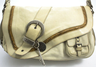 14f0b2910132 Christian Dior Gaucho Saddle Bag Schulter Tasche Shoulder Crossover  Messenger