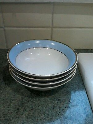 Royal Doulton Daily Mail 6.25Ins Bowls X 4 Excellent