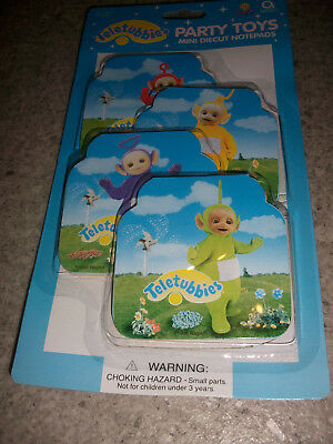 Teletubbies - Party Toys - Mini Diecut Notepads   !!!neu+Ovp!!