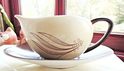 Vintage Carlton Ware Small Sauce Boat And Saucer