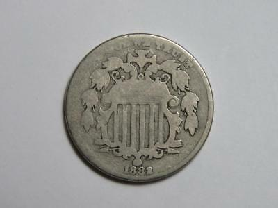 1882 Shield Nickel - US Coin