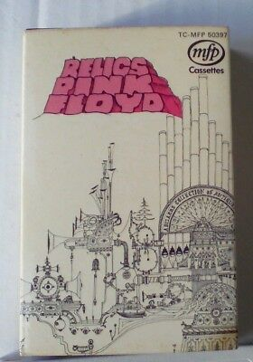 PINK FLOYD - Relics - Original MFP Cassette with Card outer case
