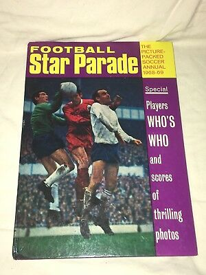 "Vintage "" Football Star Parade "" Annual 1968 - 69"
