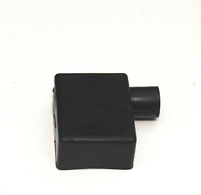 Battery Terminal Boot Elbow Protector 1 Left Black Negative 2/0 Gauge Wire