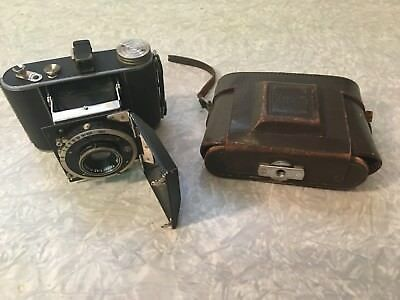 Korelle 4x6.5 Camera With Carl Zeiss Jene Tessar 7.5m Lens And Case