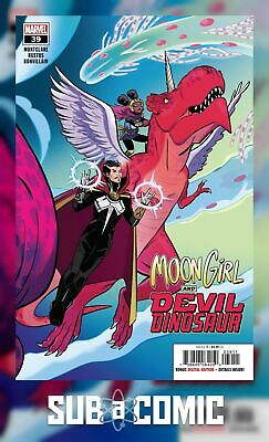MOON GIRL AND DEVIL DINOSAUR #39 (MARVEL 2019 1st Print) COMIC