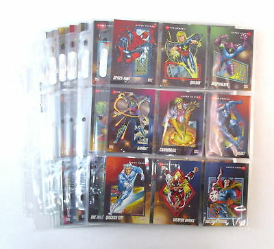 MARVEL UNIVERSE Series III Complete Base Set Of 200 Trading Cards + Extras