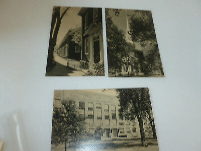 Harvard University Postcards (Three Official Vintage View Postcards) Unposted