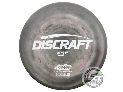 NEW Discraft ESP Zone 170-172g Gray White Stamp Putter Golf Disc