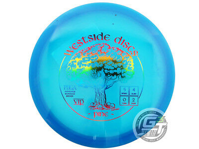 NEW Westside Discs VIP Pine 178g Blue Rainbow Foil Midrange Golf Disc