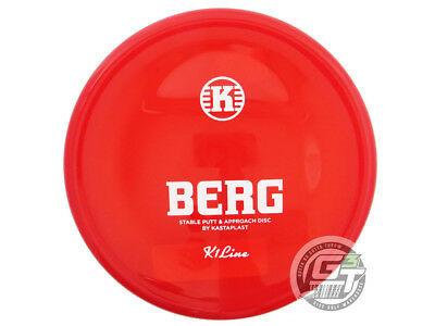 NEW Kastaplast K1 Berg 175g Red White Stamp Putter Golf Disc