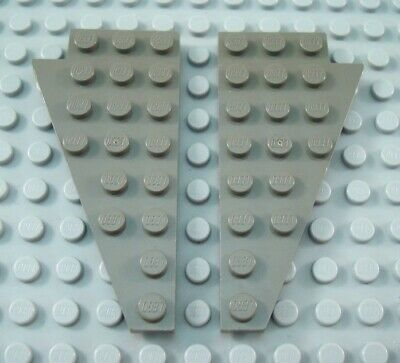 LEGO Pair of Light Gray 6x12 Space Airplane Wings