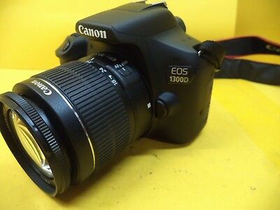 Canon EOS 1300D DSLR Camera (with 18-55mm Lens)