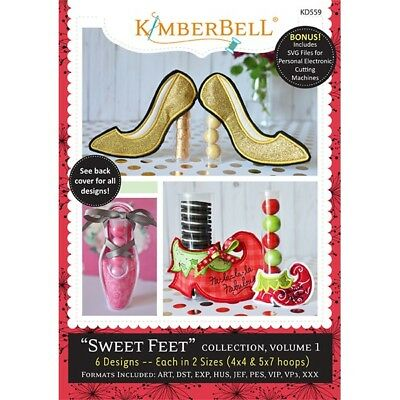 KimberbellSweet Feet Collection, Volume 1 Embroidery Cd