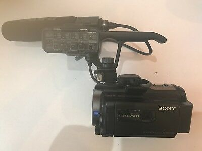 SONY NXCAM Model No HXR-NX30P VERY GOOD CONDITION WITH RODE MICROPHONE & CHARGER