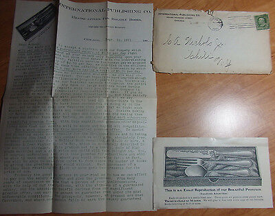 1901 Letterhead International Publishing Co 356 Dearborn St Chicago Illinois