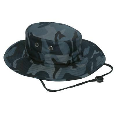 TIGER STRIPE VIETNAM Era Military Rip-Stop Wide Brim Boonie Hat with ... 6ba6b10dce4c