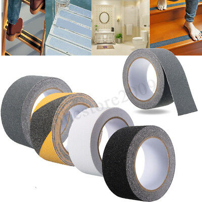 1/3/5m Step Floor Safety Non Skid Tape Anti Slip Adhesive Sticker High Grip