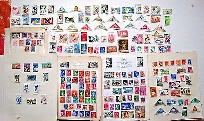 Unchecked Selection Of France & French Colonies Stamps.  Lot#449