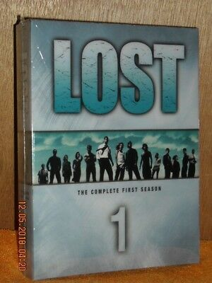 Lost - The Complete First Season (DVD, 2005, 7-Disc Set) Tv Series Matthew Fox