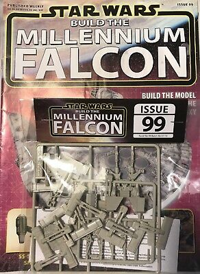 DEAGOSTINI STAR WARS BUILD THE MILLENNIUM FALCON Issue 99 Final Set Of Parts