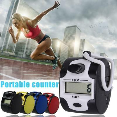 Mini Colorful Digital Hand Held Tally Counter 4 Digit Number Digital Counter