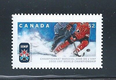 Canada #2265i 2008 IHF World Die Cut Annual Collection MNH **Free Shipping**