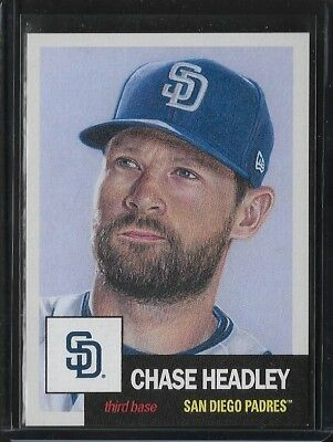 2018 TOPPS LIVING SET # 24 CHASE HEADLEY SAN DIEGO PADRES In Stock