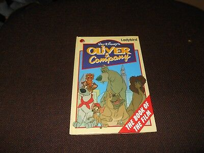 Ladybird  Book Disney Oliver And Company First Edition