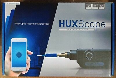 The Fibers HUXScope Wi-Fi Fibre Optics Video Inspection Microscope