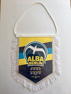 ALBA Berlin*Badge*Wimpel*Eurocup*Basketball*BBL*DBB*NBA*Bundesliga*Playoffs