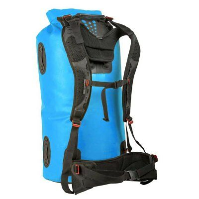 Sea To Summit Hydraulic Dry Bag With Harness 90l Azul Negro Sea to summit