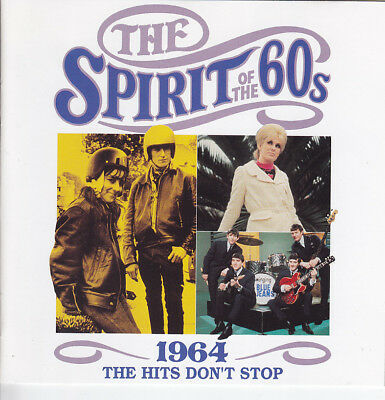 The SPIRIT OF THE 60s - 1964-The Hits don´t stop, Time Life CD