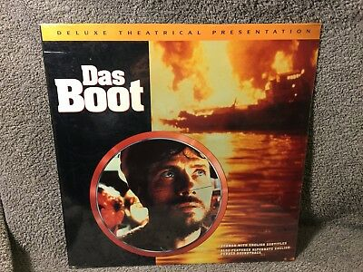 """Laser Disc """"Das Boot"""",Theatrical Version, 12"""" Disc Sealed"""