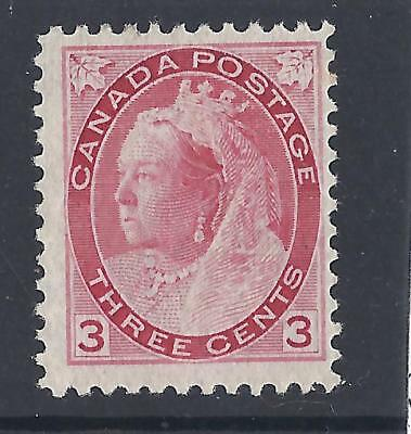 Canada 1898 3c Rose Mounted Mint Sg156