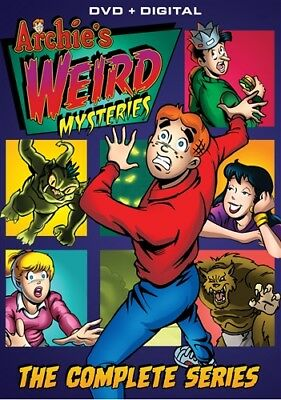 ARCHIE'S WEIRD MYSTERIES COMPLETE TV SERIES New Sealed 4 DVD Set All 40 Episodes
