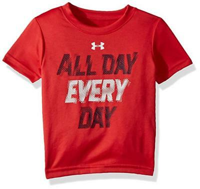 Under Armour Infant Boys Red All Day Every Day Dry Fit Top Size 24M
