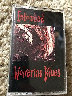 Entombed Wolverine Blues Cassette tape earache record hellacopters Swedish Metal