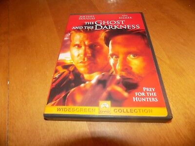 THE GHOST AND THE DARKNESS Tsavo African Killer Lions Lion Hunter Drama DVD